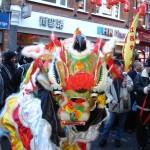 Lion Dance Chinatown